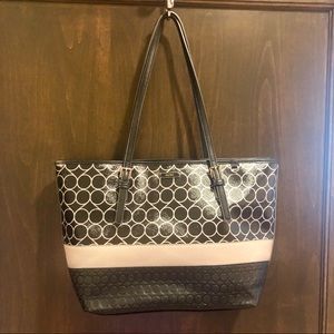 Nine West, black & gray, Handbag